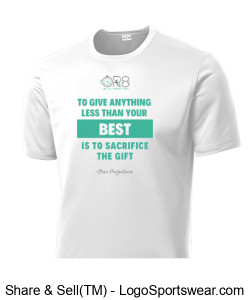 Mens Performance Tee Steve Prefontaine Quote Design Zoom